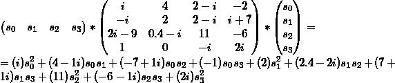 Multiplication result